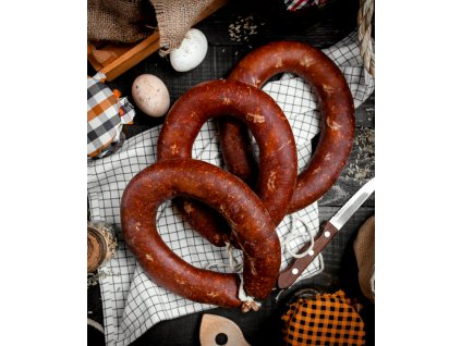 sausage table top view 140725 5450